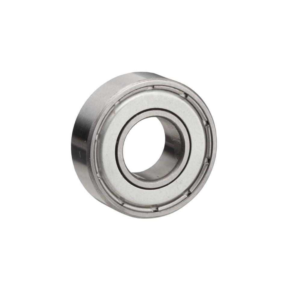 2.000 Outer Diameter 1.000 Inner Diameter 0.625 Deep Boston Gear 7616DLG Anti-Friction Ball Bearing