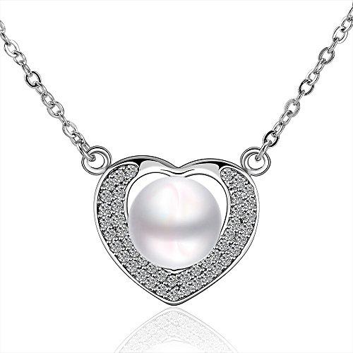 Leka Neil Pandora Heart Series Necklaces Cross Best Friend Friendship Necklaces Couples Necklace Fashion Jewelry Jewelry Box for Girls