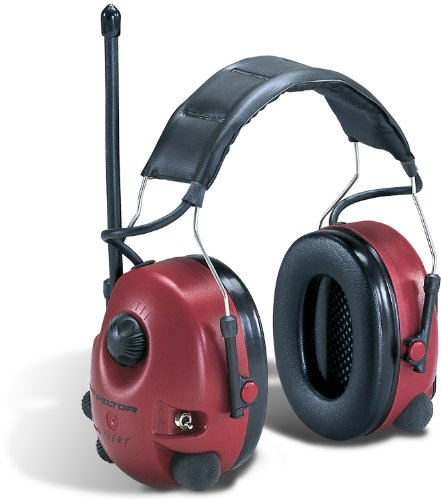 3M M2Rx7A Am/Fm Radio Headset, 25Db, Red (Case Of 1)