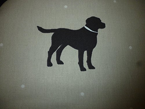 Pair of Labrador Lab Dog Silhouette Range Cooker Hob Lid Covers Hob Top Pads
