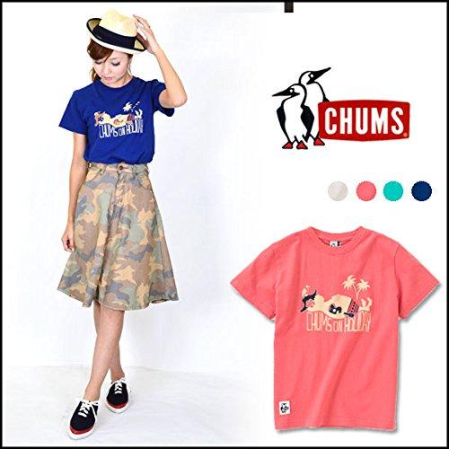 (チャムス) CHUMS Holiday T-Shirt レディース Tシャツ (CH11-1048) WM OceanBreeze