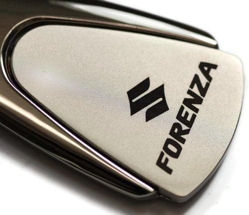 suzuki-forenza-chrome-teardrop-key-fob-authentic-logo-key-chain-key-ring-keychain-lanyard-by-dantegt