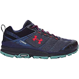 Under Armour Verge Low GTX Shoe - Men\'s Blue Knight / Black 10.5