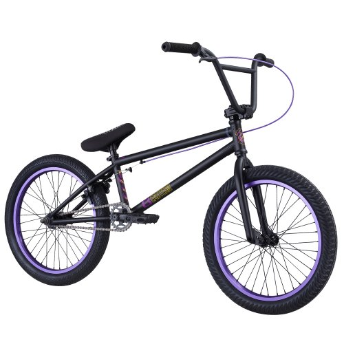 Matte Purple Scooter MTB Eastern Bikes Integrated Headset BMX