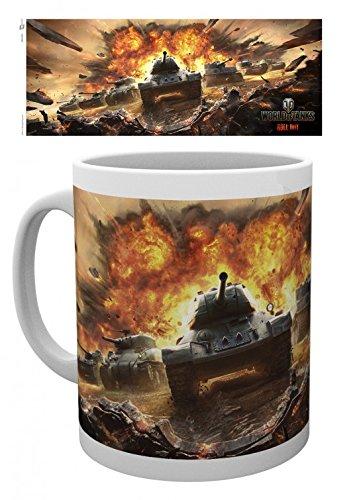 Set: World Of Tanks, Roll Out Tazza Da Caffè Mug (9x8 cm) e 1 Sticker sorpresa 1art1®