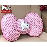 1pc Hello Kitty Car Accessory Seat Waist Cushion Seat Pillows Chair Cushion Pink