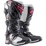 Fox Racing Comp 5 Women's Motocross/Off-Road/Dirt Bike Motorcycle Boots – Black/Pink / Size 8 by NYC Leather Factory Outlet