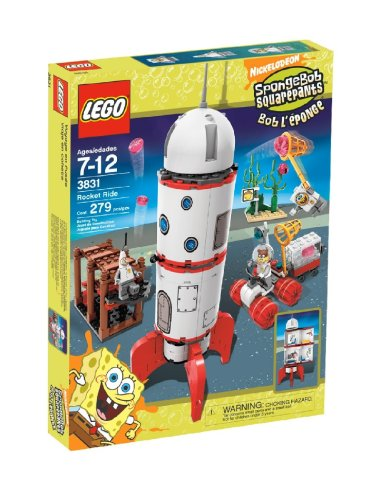 LEGO SpongeBob SquarePants Rocket Ride Amazon.com