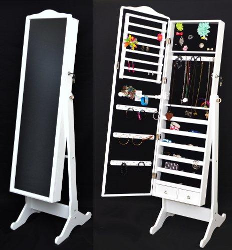 q11 schmuckschrank extra auf rollen schmuckkasten bijoux. Black Bedroom Furniture Sets. Home Design Ideas