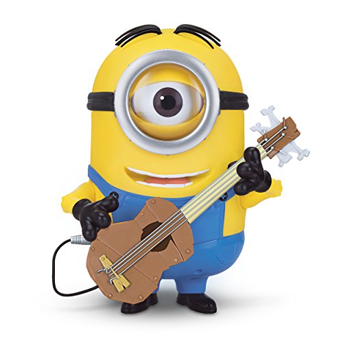 Despicable Me Minions Stuart Interacts with Guitar 小黄人(会唱歌/会说话/会摇摆) 图片
