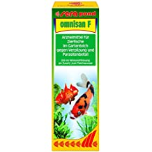 Sera Pond Omnisan 250ml I Pond Water Disinfectant Against Fungus And Parasites.