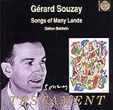 echange, troc  - Gérard Souzay Vol. 1 / Mélodies De Divers Pays