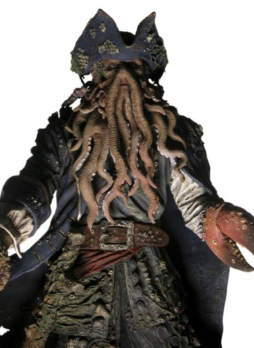 Buy Low Price NECA Davy Jones 8 inch Action Figure from Pirates of the Caribbean 2 Dead Man's Chest (B000J55TES)