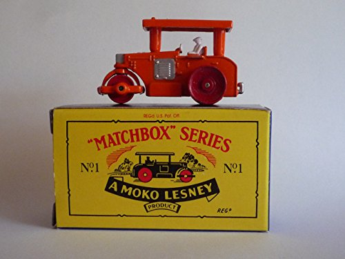 "MATCHBOX 1988 ""Matchbox Originals"" Collection MX101-A No.1 Aveling Barford Road Roller"