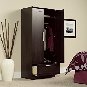 Amazon Com Armoire Wardrobe Storage Cabinet Home Amp Kitchen