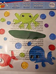 Creatology Bath Clings Frog and Fish