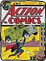DC Action Comics No. 33 Superman Fleece Throw Blanket