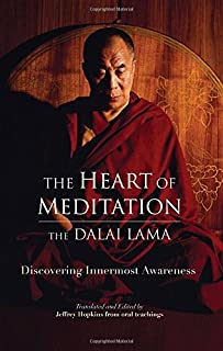 Book Cover: The Heart of Meditation: Discovering Innermost Awareness