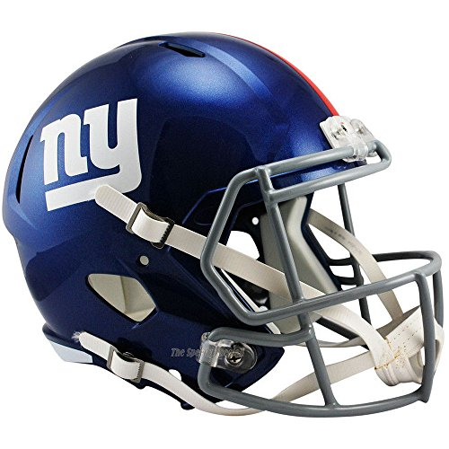 New York Giants Officially Licensed NFL Speed Full Size Replica Football Helmet (Nyg Football compare prices)