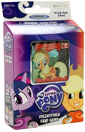 My Little Pony Enterplay Collectible Card Game Applejack Premiere Theme Deck [59 Cards] by Enterplay