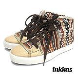 Inkkas Desert Nomad High Top Sneaker INKHT0007 Brown 3 M US