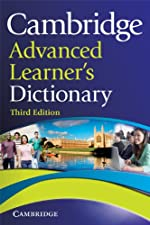 Cambridge Advanced Learner s Dictionary by Colin McIntosh