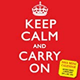 Workman Keep Calm and Carry On 2015 Mini Calendar
