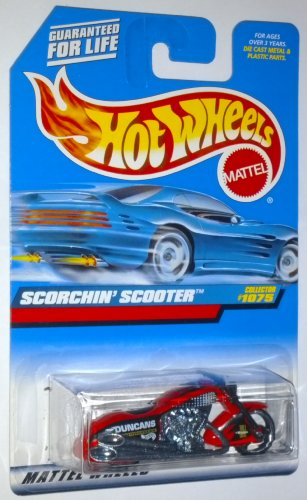 Hot Wheels 1999 Scorchin' Scooter #1075 1:64 Scale Die-Cast Vehicle