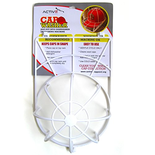 Activefit Apparel Cap Washer Ball Cap Hat Washer Excellent Hat Cleaner Clean All Your Hats From Your Hat Rack, Cap Holder, Hat Hanger And Cap Organizer. Safe For Dishwasher And Washing Machine. (Cap Dishwasher compare prices)