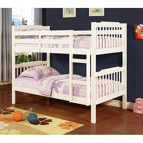 Elise Bunk Bed, Soft White