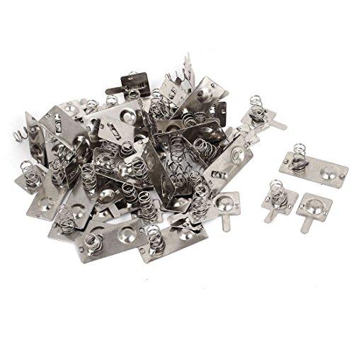 aa-conexion-de-la-bateria-de-la-primavera-de-laminacion-placas-de-plata-del-tono-22-piezas