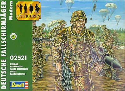 02521 1/72 German Paratroopers Modern - 1