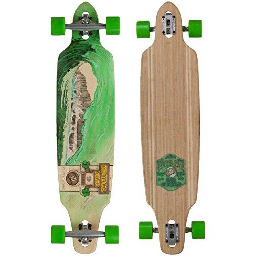 sector-9-green-wave-lookout-ii-drop-thru-bamboo-complete-downhill-longboard-skateboard-96-x-42