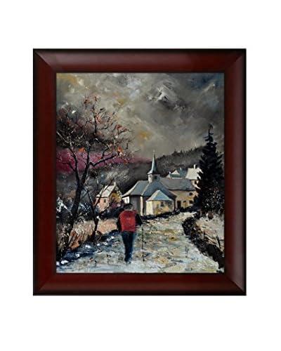 """Pol Ledent """"Cornimont 67"""" Framed Canvas Print"""