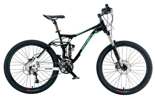 HASA 30 Speed Dual Suspension Mountain Bike SLX 18