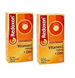 Redoxon Double Action Vitamin C + Zinc Orange Effervescent 30 Tablets-PACK OF 2