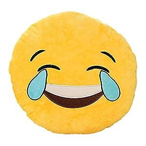Emoji Smiley Emoticon Cushion Pillow Stuffed Plush Toy Doll Yellow Plush Soft Toy from Dalospape