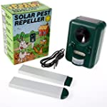 PetzTrendz PT-SOL-REPEL Solar Powered...