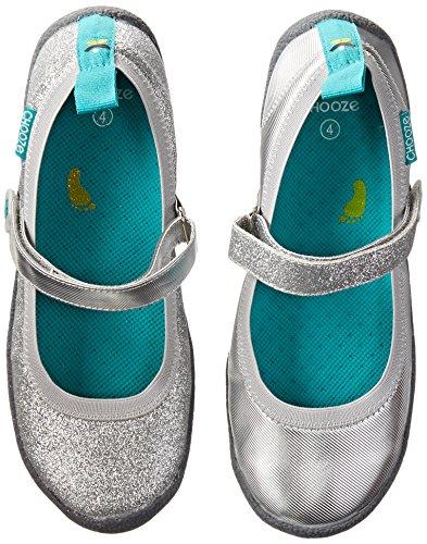 CHOOZE Dance Mary Jane , Twinkle Silver, 1 M US Little Kid