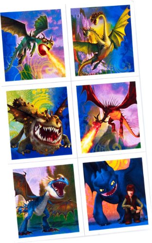 How To Train Your Dragon Party Stickers - Party Favors by Hallmark