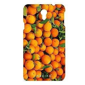 Mozine Orange Lover printed mobile back cover for Samsung Note 3 n9000