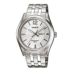 Casio Mens Standard PAIR Analog Business Quartz Watch (Imported) MTP-1335D-7A