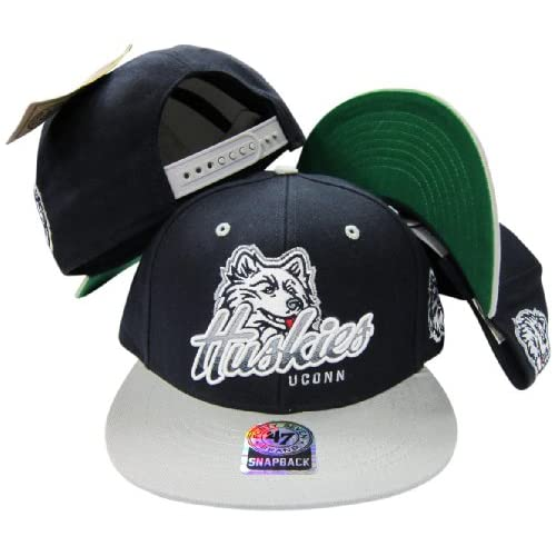 connecticut uconn huskies navy grey two tone