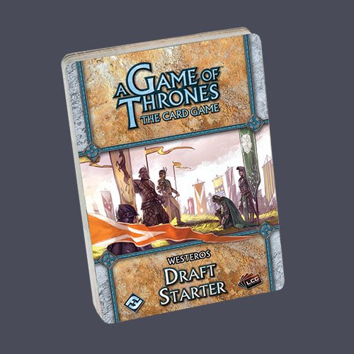 A Game of Thrones the Living Card Game: Westeros Draft Starter - 1