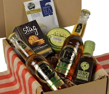Craft Beer & Savoury Gift Box - This Craft Beer gift hamper makes an excellent Fathers Day gift hamper or a Craft Beer gift hamper as a Birthday Hamper for him
