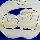 青森ひば2015年干支パズル【羊】抗菌防臭癒し