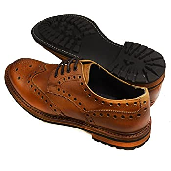 Paul Malone Dress Shoes . Antique Brown . 100% Leather