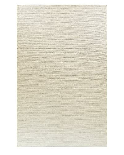 Bashian Wool Tufted Rug, Ivory, 5' x 8'