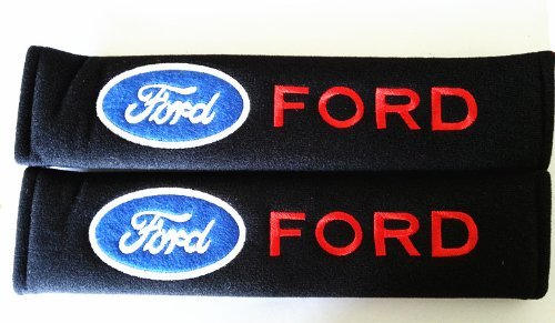Ford Seat Belt Cover Shoulder Pads 2 pcs (Seat Belt Covers Ford compare prices)