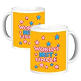 ToduGift Worlds coolest Uncle Ceramic Mug
